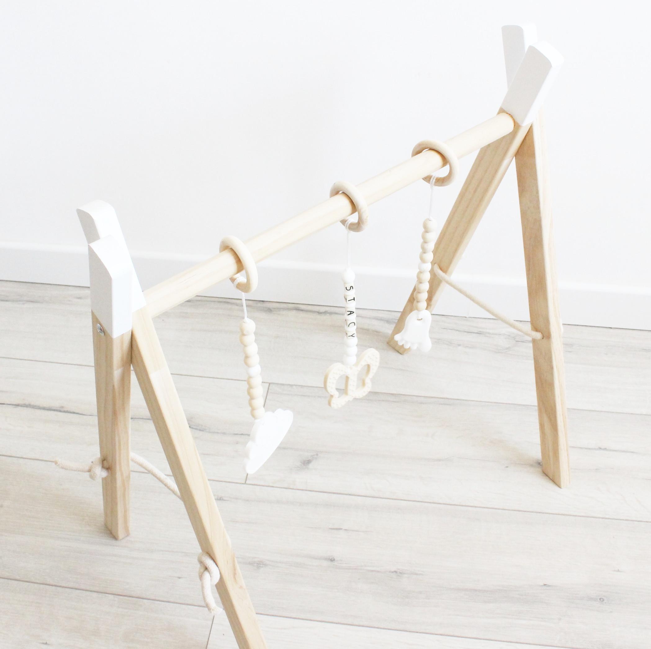 portique d 39 veil en bois blanc elyce creation. Black Bedroom Furniture Sets. Home Design Ideas
