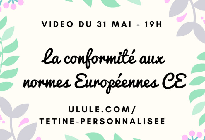 Vidéo live du 31 mai : la conformité aux normes Européennes