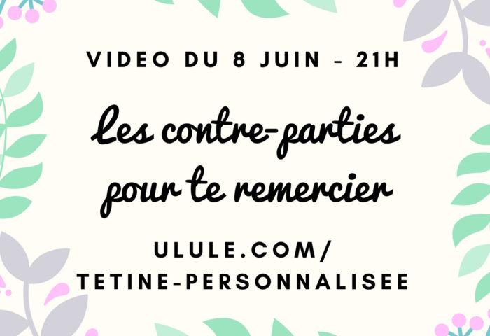Vidéo live du 8 juin : les contre-parties