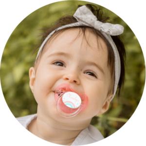 soliloquy 1 photo bebe tetine sucette personnalisée prénom bébé B