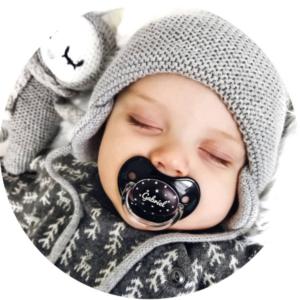 soliloquy 2 photo bebe tetine sucette personnalisée prénom bébé B