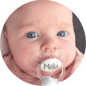 soliloquy 4 photo bebe tetine sucette personnalisée prénom bébé B