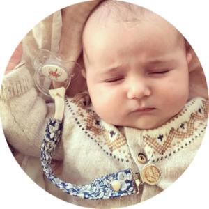 soliloquy 8 photo bebe tetine sucette personnalisée prénom bébé B